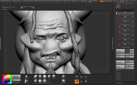 12th sketch progress 3